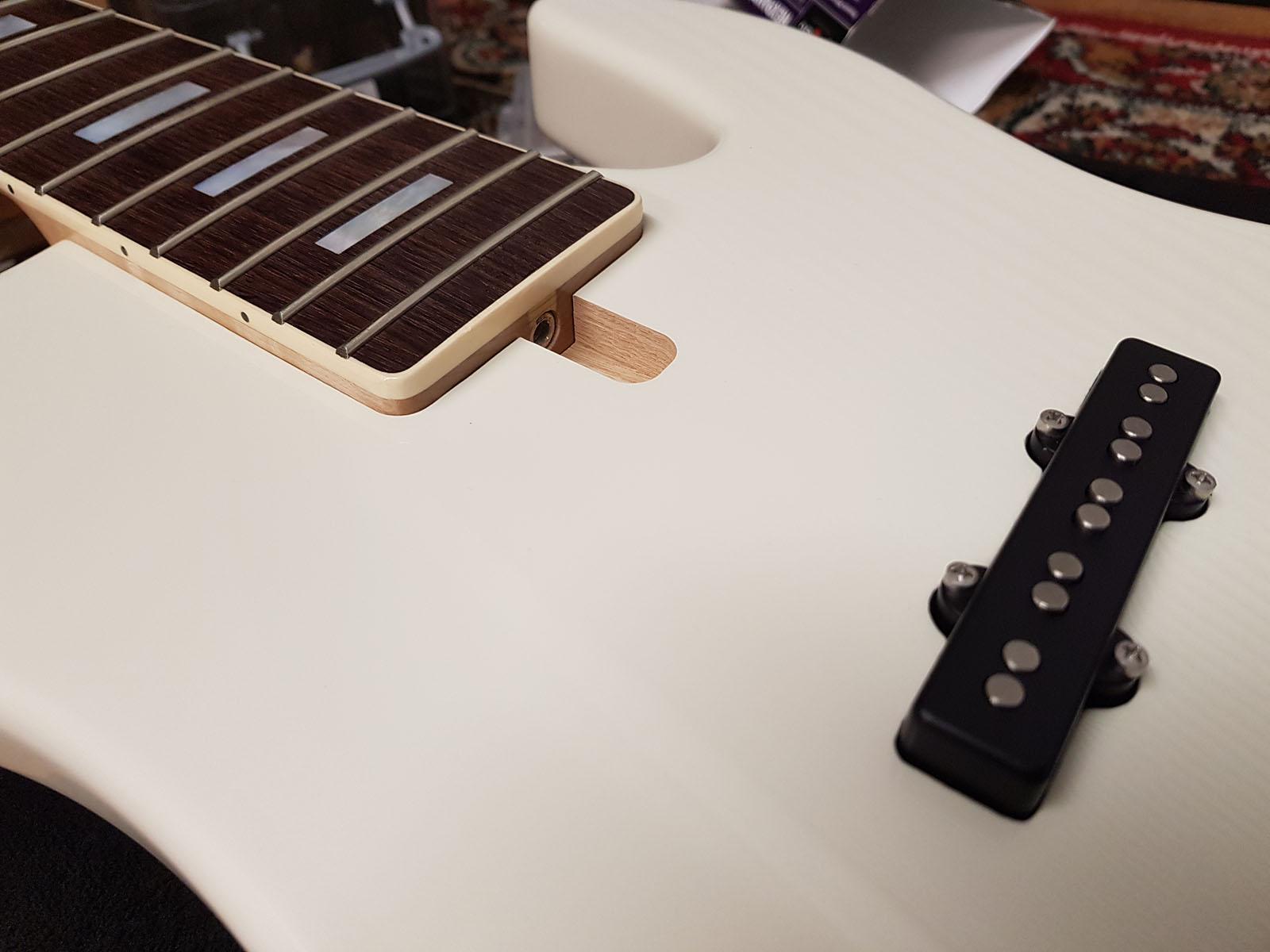5 string jazz midi loaded bass | Chris McIntyre Guitars